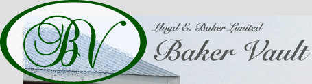 Baker Vault, a division of Lloyd E. Baker Limited, is a fifth generation family owned company located just north of Newmarket, Ontario. For more than 20 years Baker Vault has continued the tradition of providing consistent quality, value and exceptional service to the family in need through their funeral home. The Baker Vault company has established a line of vaults designed to meet the aesthetic need of the family while providing the strength necessary to ensure grave integrity in the coming years. Every vault manufactured by the Baker Vault company meets the highest quality standard and is finished with the care and pride that has been a part of the Baker family tradition for generations.